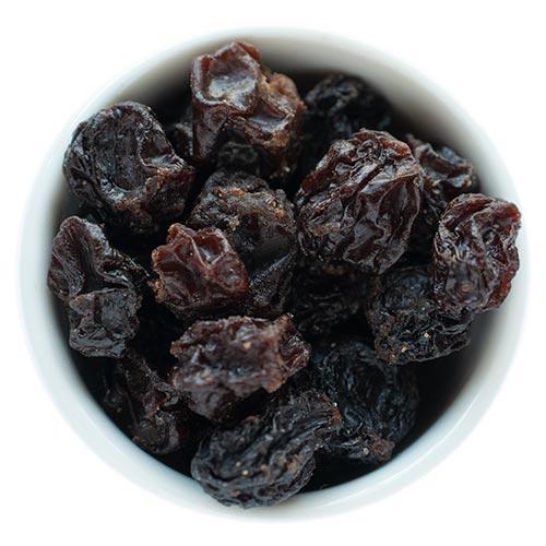 Rosinen, ungeschwefelte Rosinen im Hohensteiner Knuspermuesli