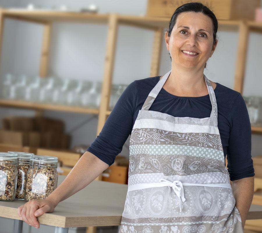 Monika Weyer, Gründerin der Muesli Manufaktur, gesunde Ernährung ist wichtig
