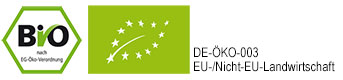 Biosiegel, Öko-zertifiziert, Bio nach EG-Öko-Verodrnung
