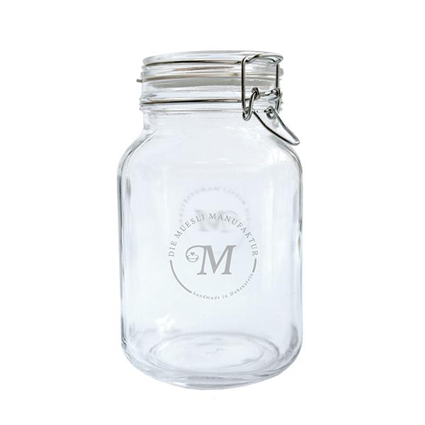 2L Glas für 1Kilo Muesli