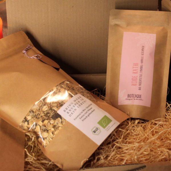 Geschenkpaket Koide Kathi Tee und 500g Muesli